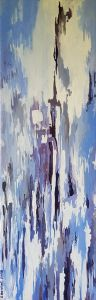 EXILES. Oil on cabvas. 20 x 60 cm. 2008.